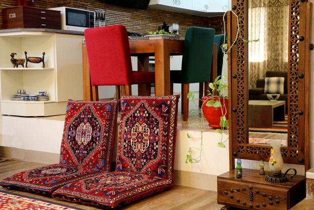 طراحی داخلی سنتی در ایران
